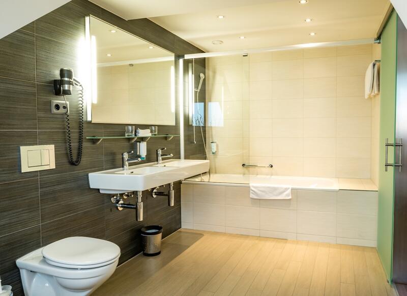 Bathroom at Hotel Sternen Oerlikon in Zurich