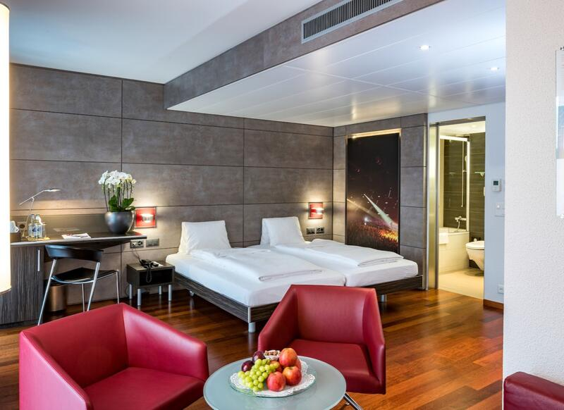 Twin Room at Hotel Sternen Oerlikon in Zurich