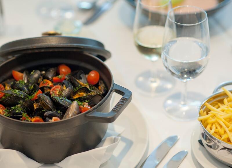 Food specialties at Hotel Sternen Oerlikon in Zurich