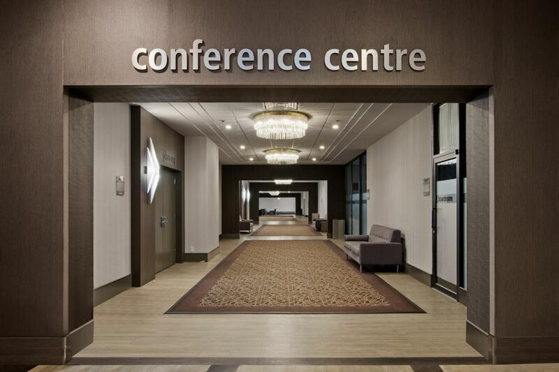 hallway to conference centre