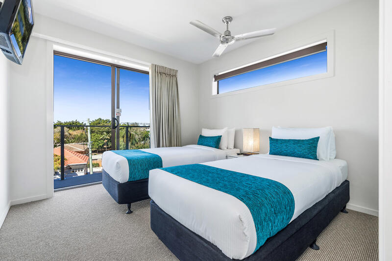 Two Bedroom Apartment | Twin Beds | Serviced Apartments Brisbane