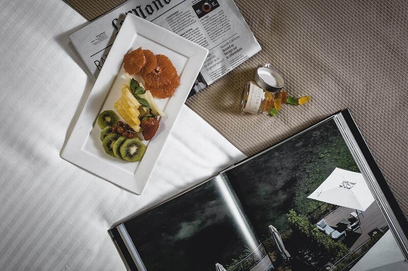 breakfast service luxury hotel