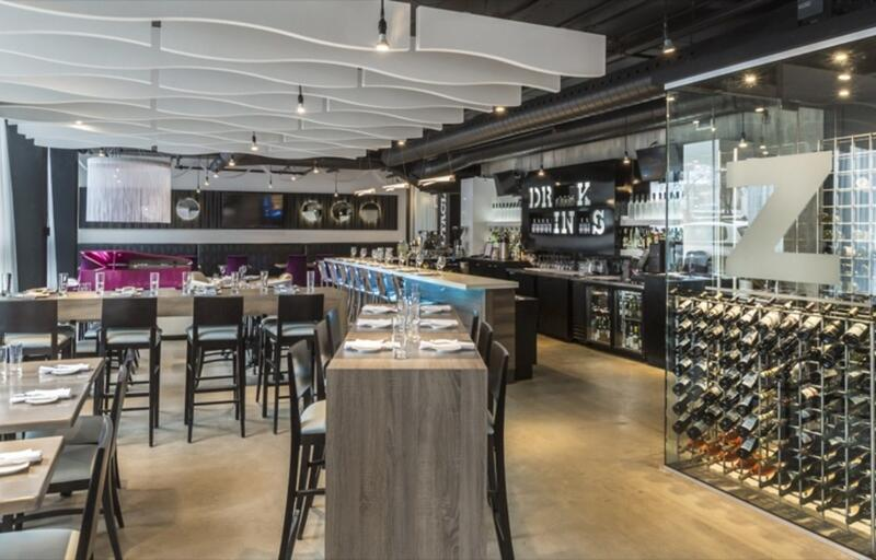 Z Tapas Lounge Restaurant Interior