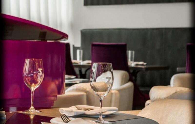Table at Z Tapas Lounge
