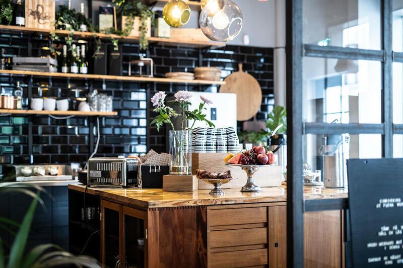 Bar at Hotel Flora in Gothenburg, Sweden