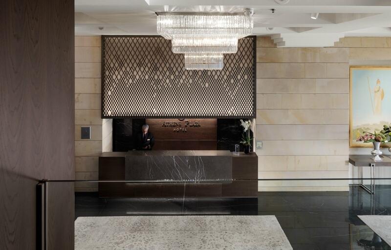 Entrance To Hotel NJV Athens Plaza