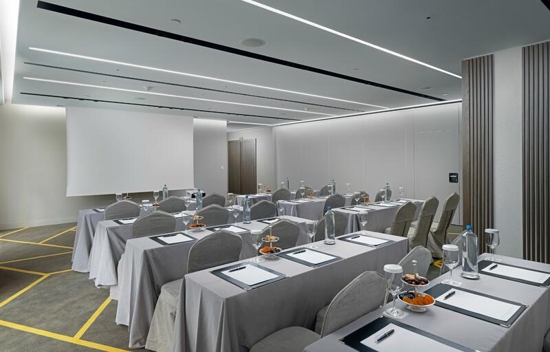White Meeting Room NJV Athens Plaza