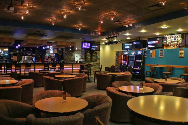 Lounge seating in bar