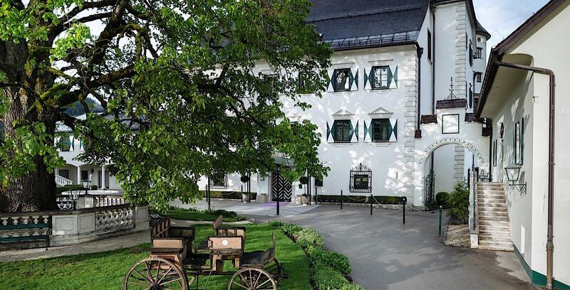 Romantik Hotel Schloss Pichlarn, Austria, in summer
