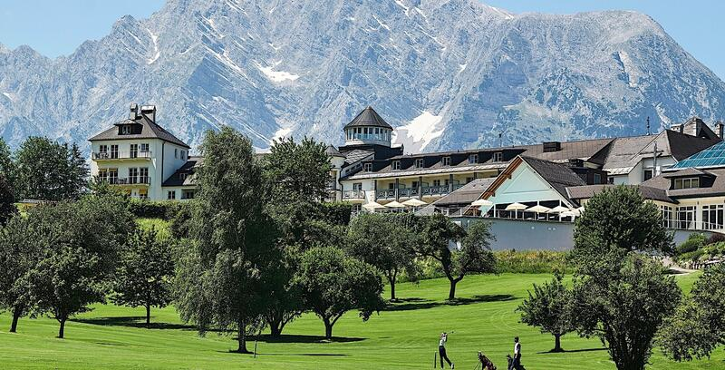 Golf Course at Romantik Hotel Schloss Pichlarn, Austria