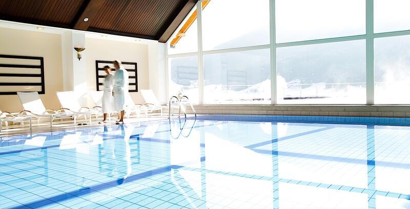 Indoor Pool at Romantik Hotel Schloss Pichlarn, Austria