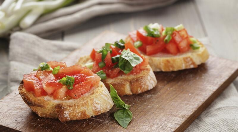 Bruschetta | Musket Cove Island Resort And Marina
