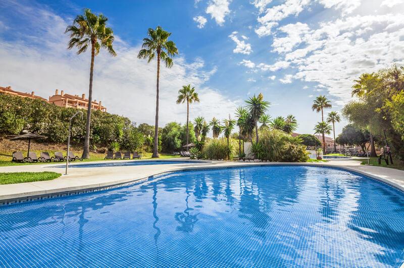 Los Amigos Beach Club Outdoor Swimming Pool in the Sun