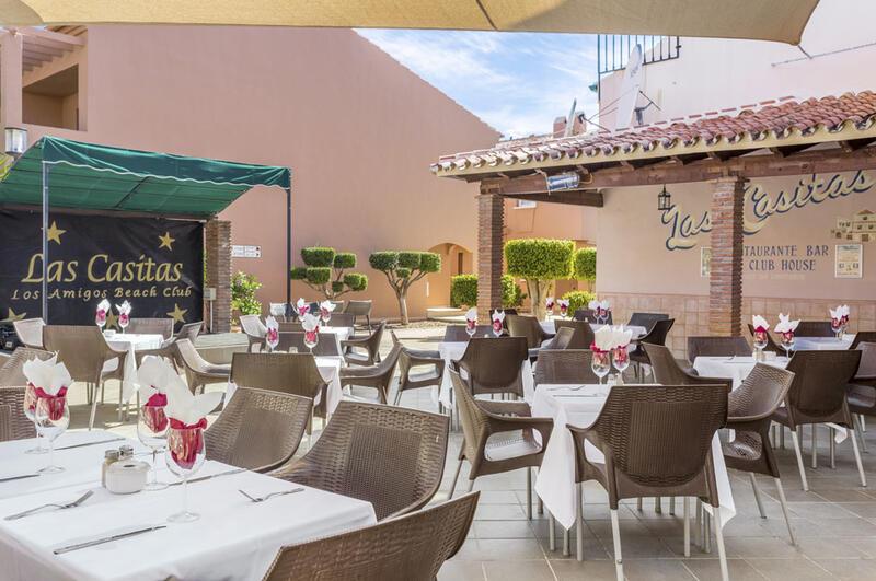 Los Amigos Beach Club Restaurant with Outdoor Seating