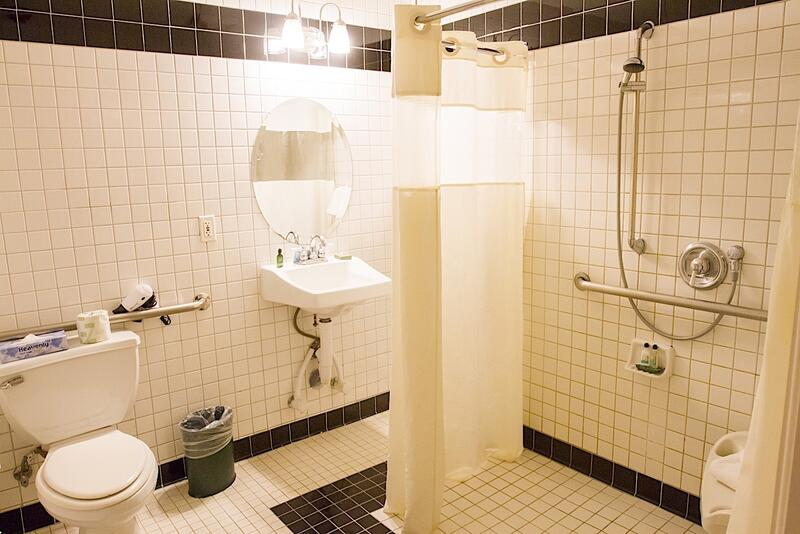 Accessible Bathroom at Hotel Colorado