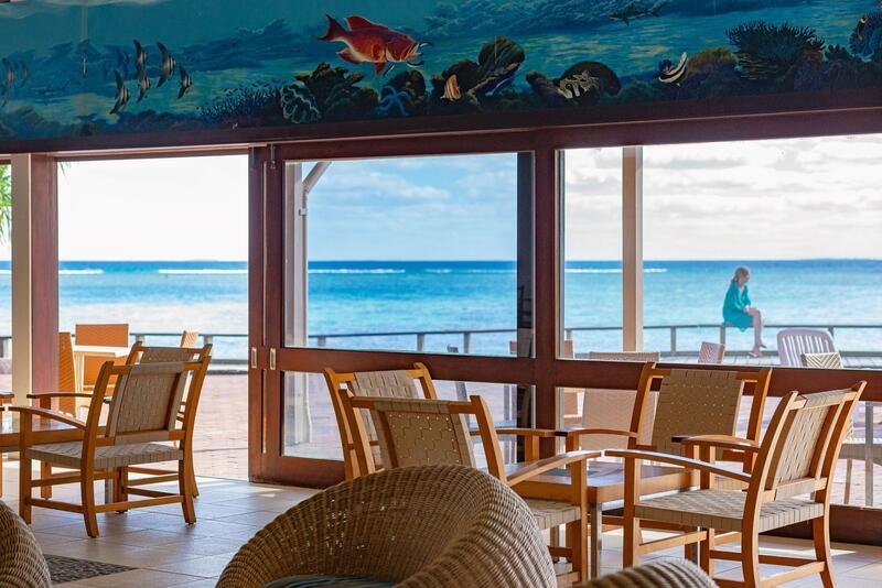 Bar at Heron Island Resort in Queensland, Australia