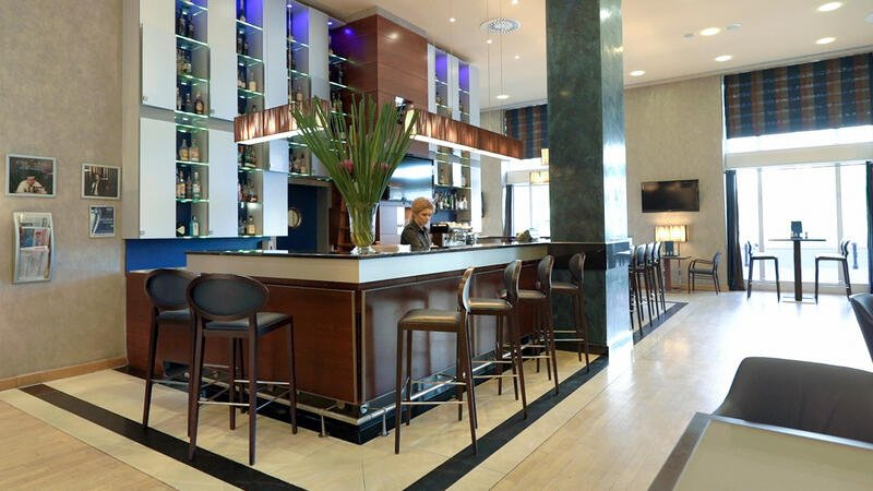 Lobby Bar at Polonia Palace Hotel, Warsaw