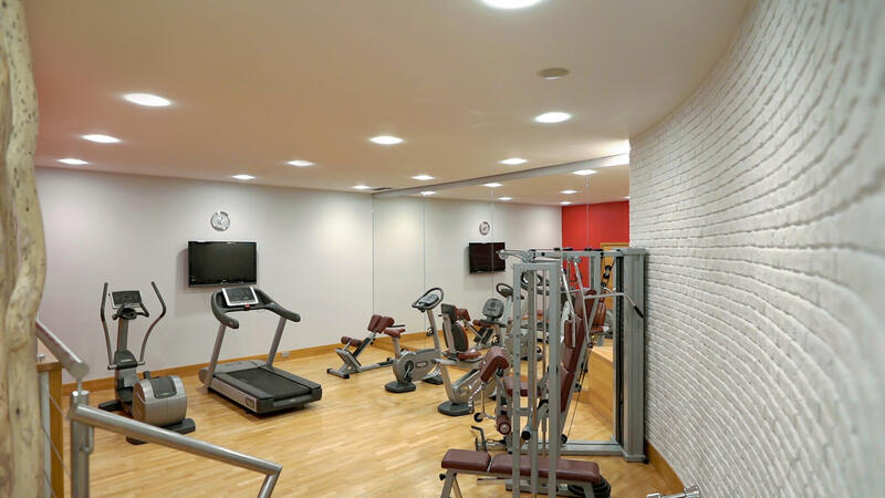 Gym at Polonia Palace Hotel, Warsaw