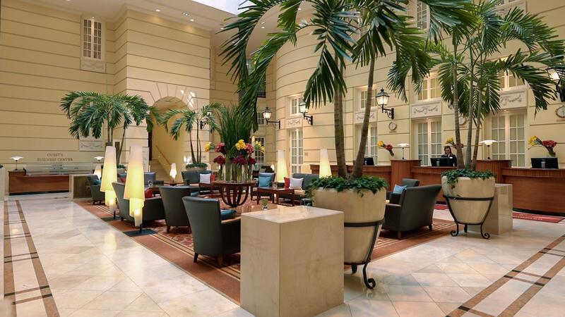 Lobby at Polonia Palace Hotel, Warsaw