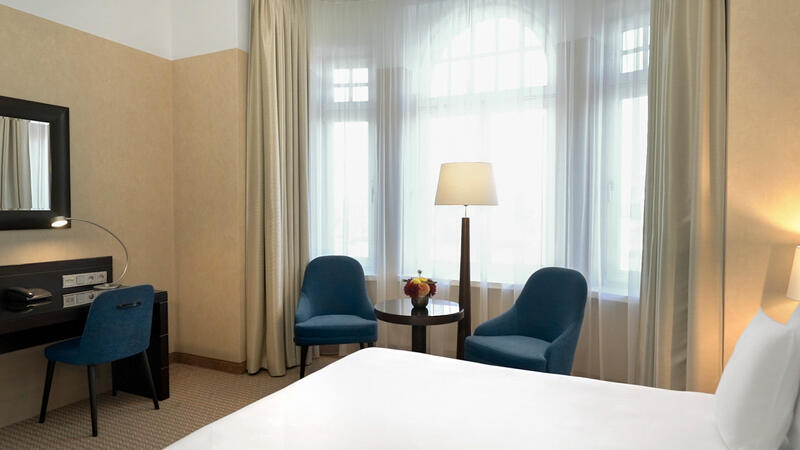 Deluxe Business Room at Polonia Palace Hotel, Warsaw