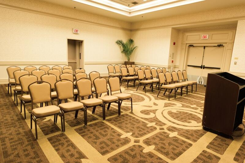 conference room with chairs