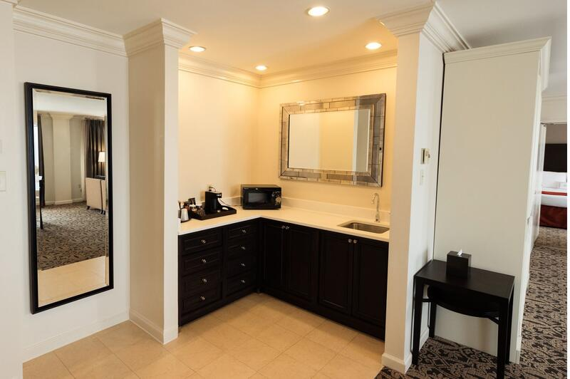 sink and cabinet with mirror