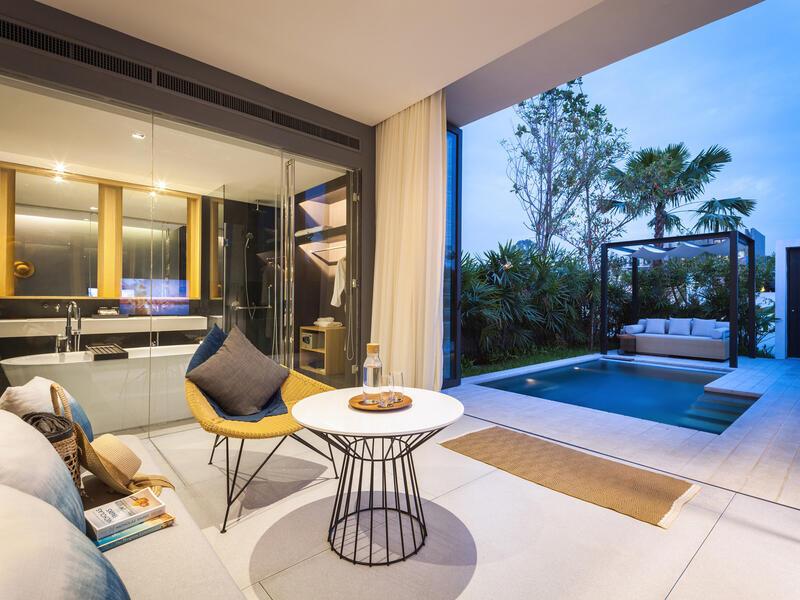 X2 Pattaya Oceanphere 1 Bedroom Villa - Spacious Living Room