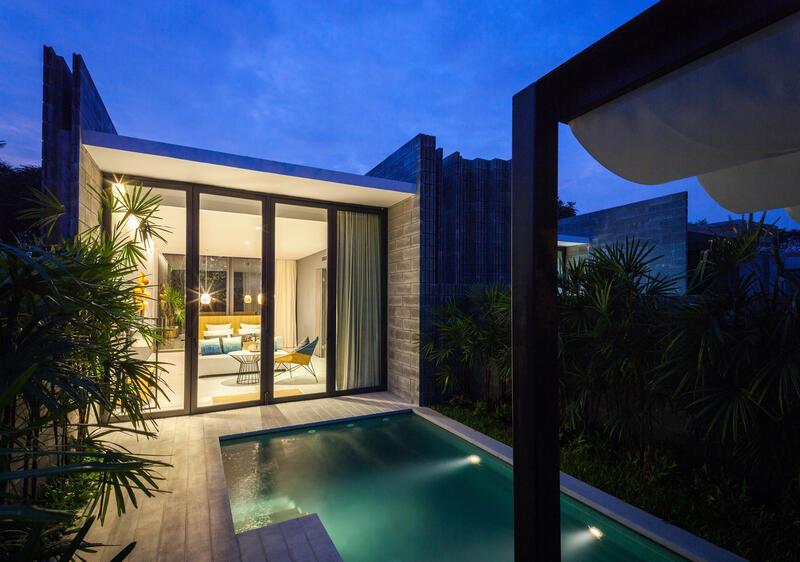X2 Pattaya Oceanphere 1 Bedroom Villa - Pool View
