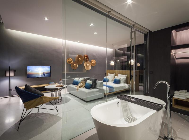 X2 Pattaya Oceanphere 1 Bedroom Villa - Bathroom