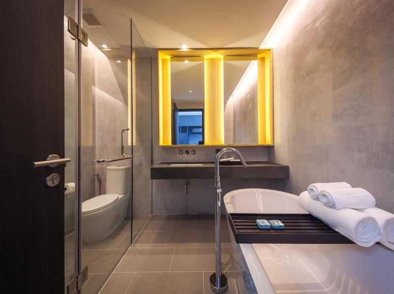 X2 Pattaya Oceanphere 2 Bedroom Villa - Spacious Bathroom