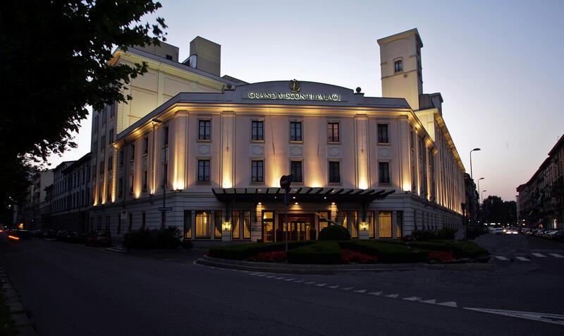 Grand Visconti Palace in Milan