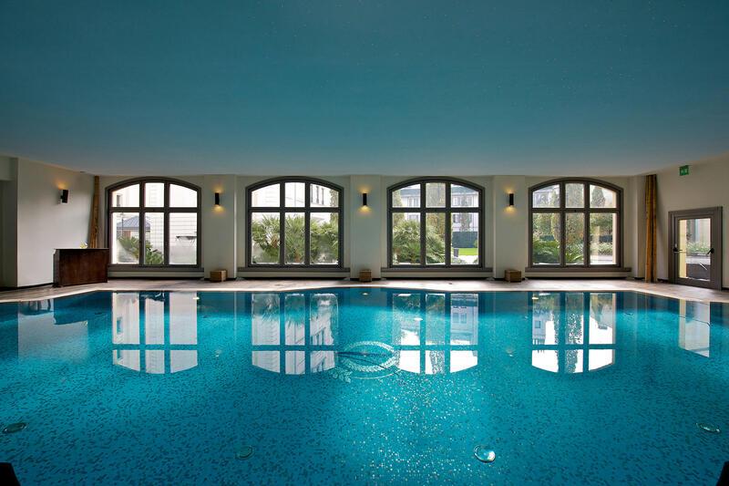 Swimming pool at Grand Visconti Palace in Milan