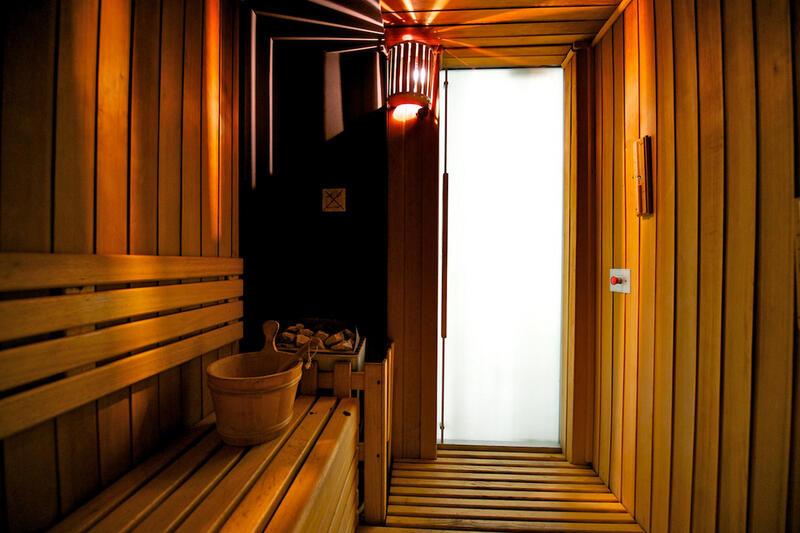 Sauna at Grand Visconti Palace in Milan