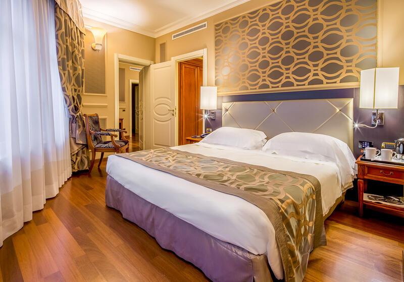 Family Room at Grand Visconti Palace in Milan