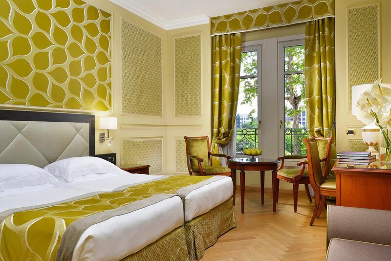 Superior Twin Room at Grand Visconti Palace in Milan