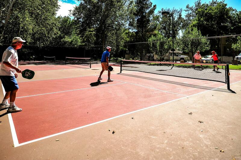 Los Abrigados Resort Pickle Ball Court