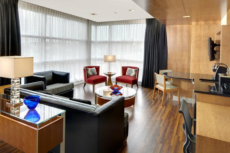 Large living room area for Presidential Suite