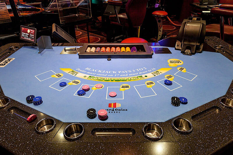 Casino Money at Airport Hotel Basel