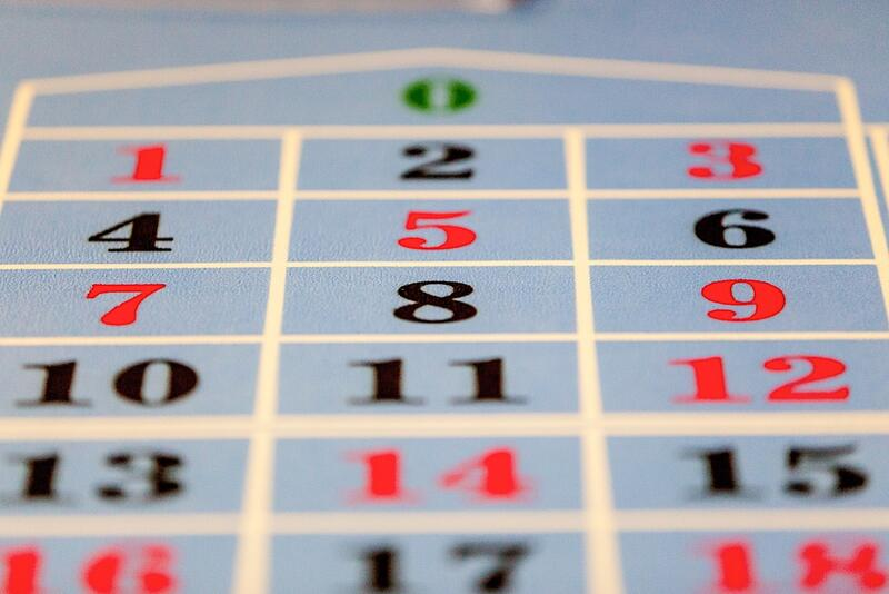 Casino Game Numbers at Airport Hotel Basel