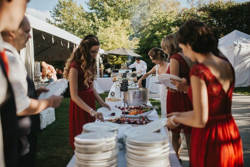 Gellatly Garden Marquee Reception