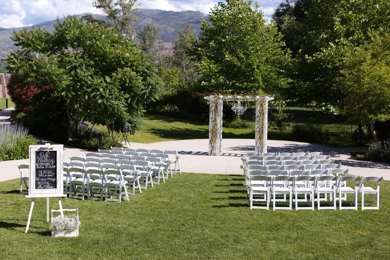 Gellatly Gardens Wedding Ceremony