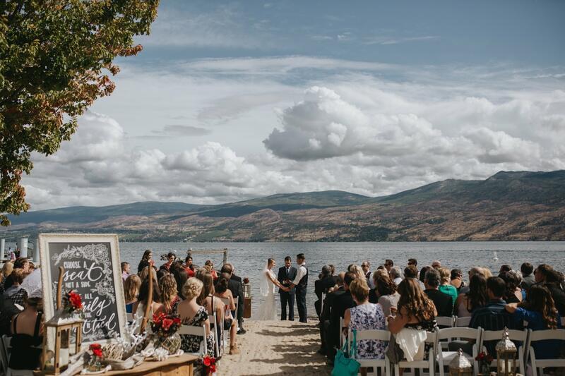 Beach Ceremony cove lakeside resort