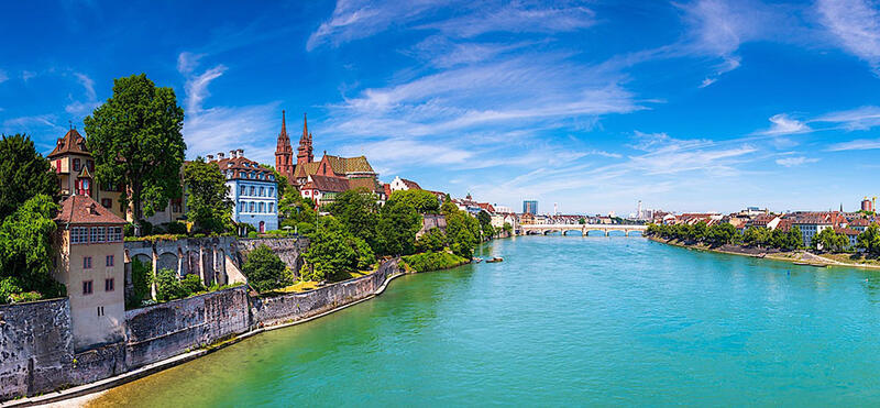 Basel In Summer at Airport Hotel Basel