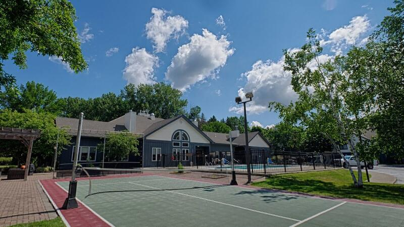 Basketball-Tennis Court and Seasonal Outdoor Pool