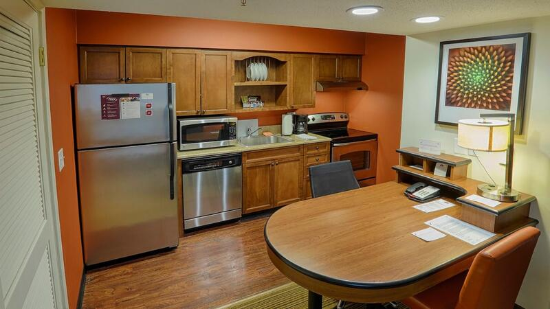 All Suites Feature Full Kitchen