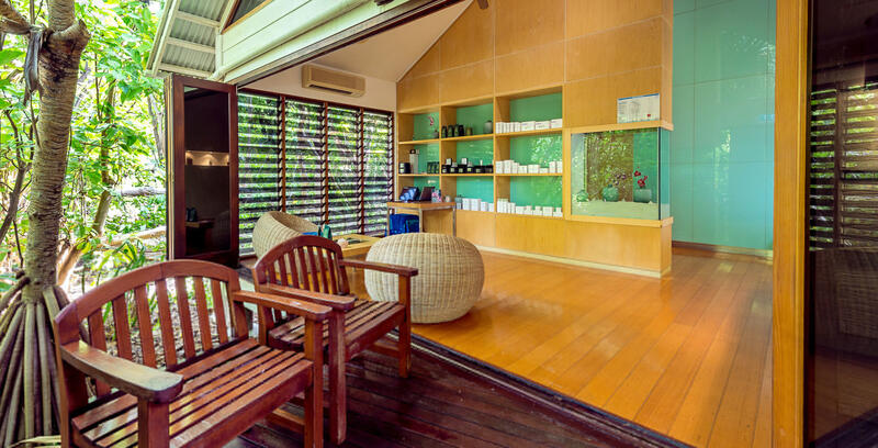 Spa at Heron Island Resort in Queensland, Australia