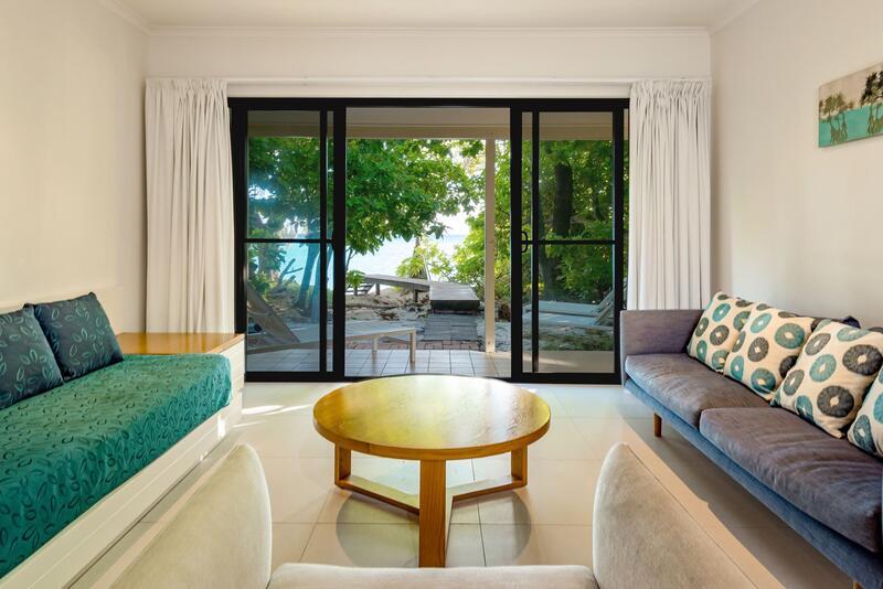 Beach House Accommodation at Heron Island Resort