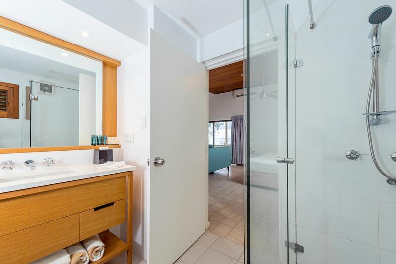 Bathroom at Point Suite Heron Island Resort