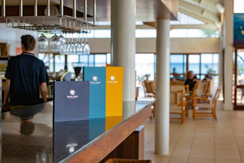 Bar at Heron Island Resort