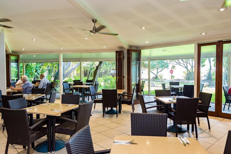 Dine at Shearwater Restaurant - Heron Island Resort